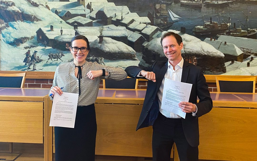 Nussir Signs Cooperation Agreement with Hammerfest Municipality