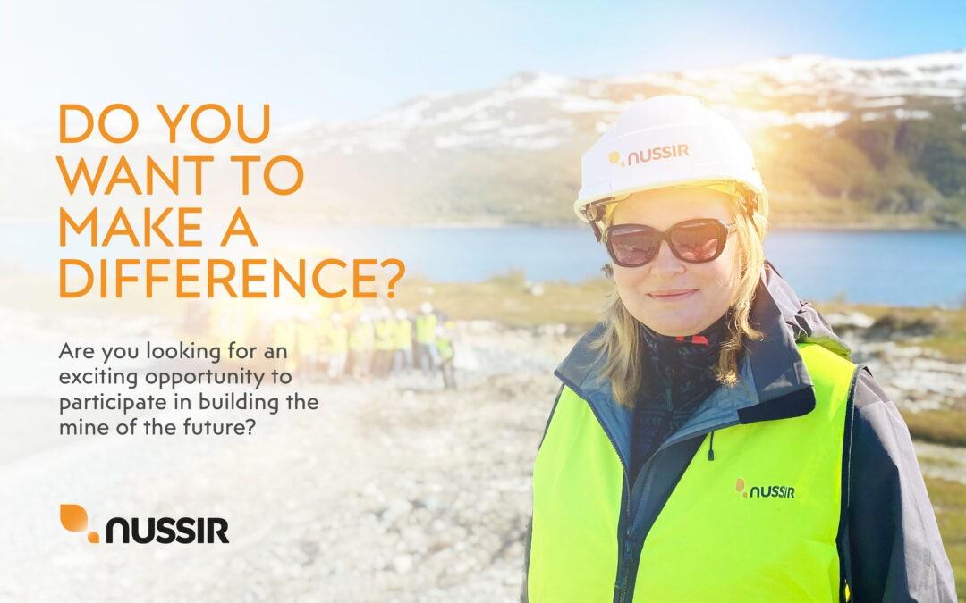 Nussir ASA is seeking a Mine Planner